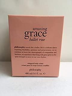 Philosophy Amazing Grace Ballet Rose Whipped Body Creme 16 oz