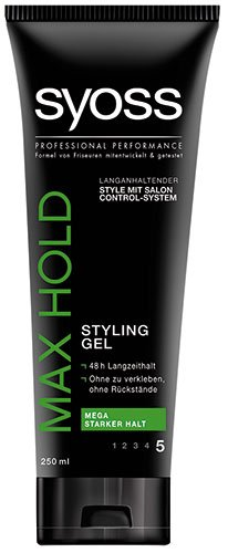 Syoss - Max Hold, Styling Gel - 250ml