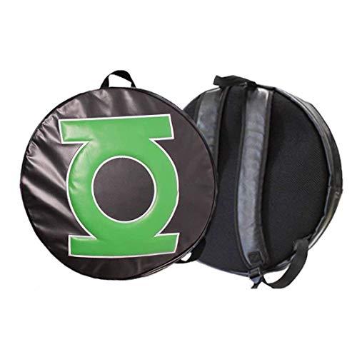 Linterna Verde Grande Logotipo Redondo Back Pack