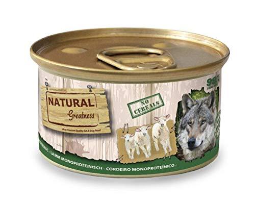 170 GR Natural greatness monoproteic lamb recipe hondenvoer