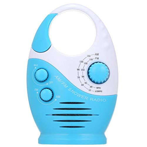 Mini radio de ducha colgante de radio impermeable portátil durable altavoz de baño para piscina vestuario habitación