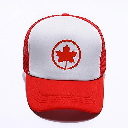 KUANGLANG Mütze Frauen Sommer Kanada Mütze Hüte für Frauen Männer Baseball Mesh Mütze Hut Snapback Baseball Caps Männer Frauen Casual