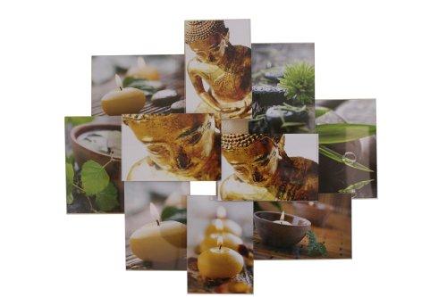 Collagen Galerie Galerierahmen für die Wand für 10 Fotos 10x15 mit
