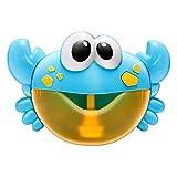 Domybest Macchina per Bolle di Sapone Granchio Musicale con Bolle Spara Bolle di Sapone Bagnetto Automatico per Vasca da Bagno Giocattoli da Bagno per Bambini