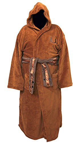 Star Wars Jedi Master Fleece Comfy Robe Bathrobe Big and Tall