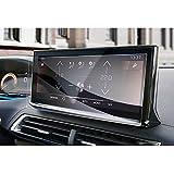 GAFAT 2021 2022 Nuevo Peugeot 3008 5008 GT Line 10 pulgadas Navigation Protector de pantalla de cristal blindado para 2021 Nuevo 3008 5008 GPS, antigolpes, 9H antiarañazos