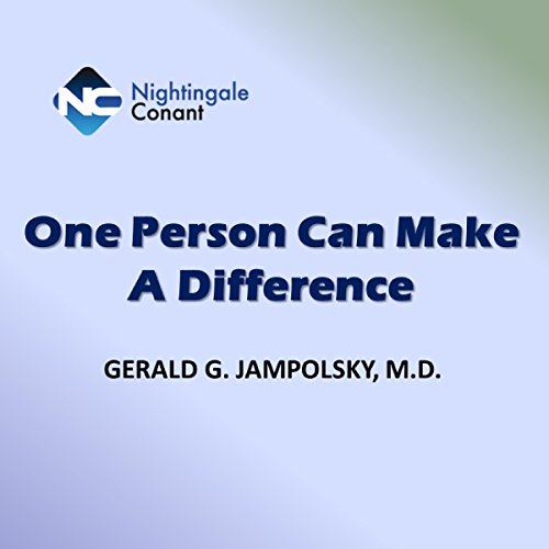 Couverture de One Person Can Make a Difference