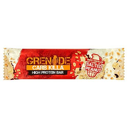 Grenade Carb Killa High Protein Bar White Chocolate Salted Peanut, 60g