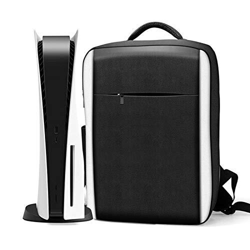 Tragetasche, Gaming Taschen, Konsolen Umhängetasche für PS5, Zubehör und Games Kompatibel mit Playstation 5 Tasche