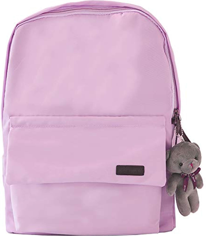 YZBB new junior middle school bag, shoulder bag schoolbag, female Korean Edition high school student campus Joker, knapsack Backpack