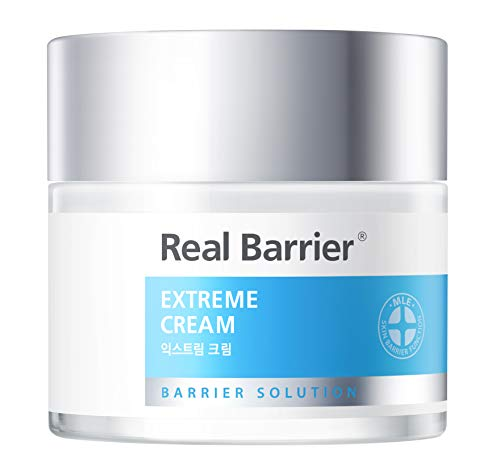 Real Barrier Extreme Cream, Second Generation 72 Hour Long Hydration Facial Skin Care for Sensitive Skin, 1.7 Fl. Oz, 50ml