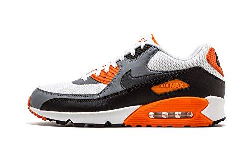 Nike Herren, Sneakers, air max 90 essential, mehrfarbig (white/anthracite-cool grey-blk), 44