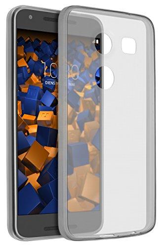 mumbi Hülle kompatibel mit LG Nexus 5X Handy Hülle Handyhülle dünn, transparent schwarz