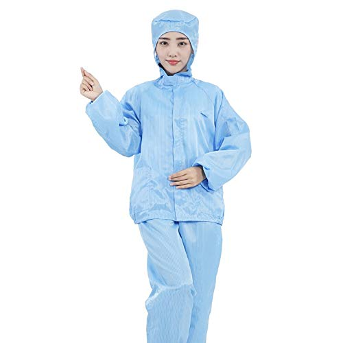 LITI Anti-statische stofvrije werkkleding met capuchon Overall stofvrij stofdicht waterdicht A, S