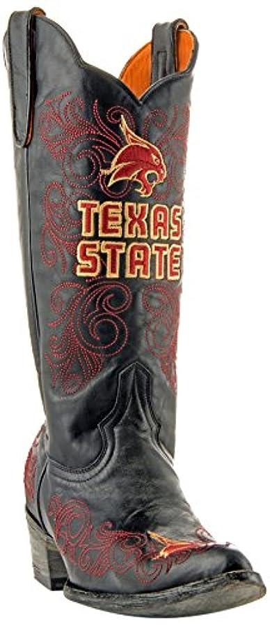 不明瞭かりて請うNCAA Texas State Bobcatsレディース13インチGamedayブーツ