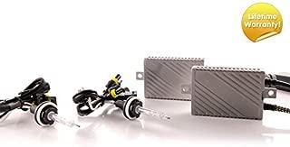 DDM Tuning Plus 55W Premium HID Kit, Slim AC Ballasts w/Hi-Output Bulbs, H11, 8500K