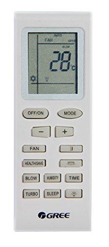 Telecomando Gree YB1FA per condizionatori Ferroli, Argo, Vaillant, Lamborghini, Zephir, Aermec, Maxa, Fanair, Ecoair, Unical, Joannes ed altri aria condizionata, climatizzatore, pompa di calore