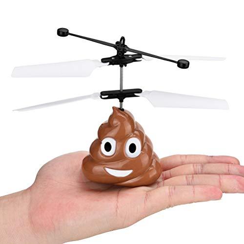 Dan&Dre - Palla per bambini, giocattolo per bambini, mini droni controllati a mano, effetto poop, novità, giocattolo, elicottero, telecomando per vacanze per bambini e ragazzi (senza telecomando)