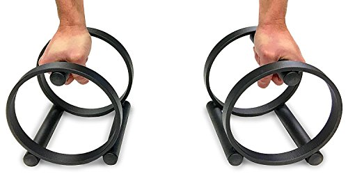 P-Fit - Push Up Bars/Parallettes, Balance & Stretch (Set of 2) / Prodigy Fit