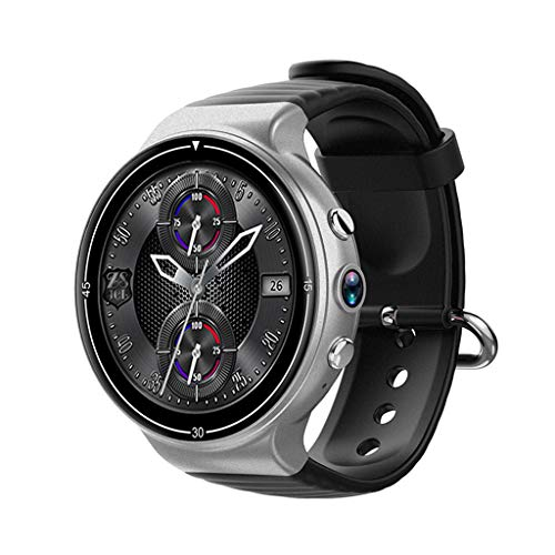 JingJingQi Fitness tracker I8 smart watch Android 7.0 1.39'' Amoled 400 * 400 4G Telefoonhorloge SmartWatch Z28 LEM7 LEM X I7 met Hartslagmeter Google Play