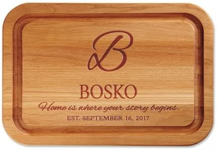Personalized Home is Where Your Story Brand Cheap Sale Venue Wood Begins Alder Max 59% OFF Cutt Red