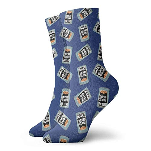 Baked Beans Aussie Iconic Food Socks Slipper Calcetines para mujeres, calcetines divertidos 30 cm/11.8 pulgadas