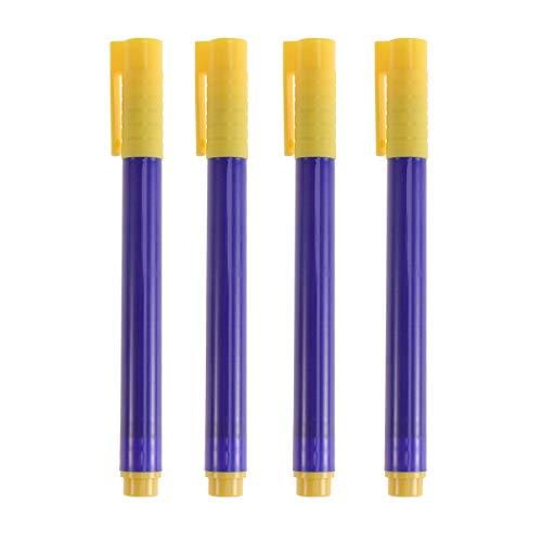 STOBOK 10 stücke Tragbare Geld Stifte Gefälschte Stifte Cash Tester Stifte Falschgeld Detektor Marker (Blau)