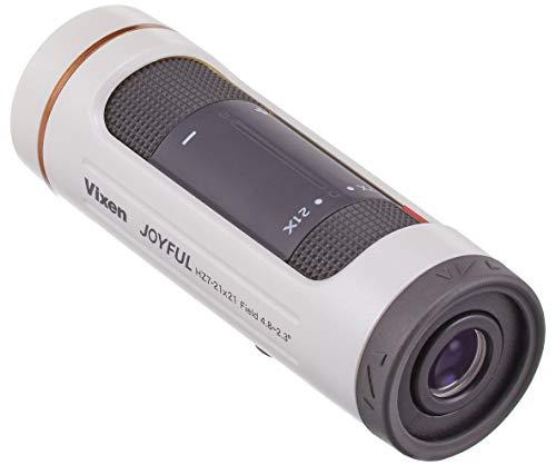 ビクセン(Vixen) 単眼鏡 ジョイフルモノキュラー HZ7-21x21 パールホワイト 11487
