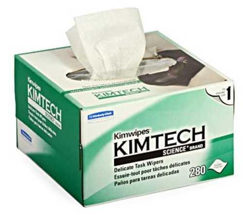 Danitech Staubfreie/Fusselfreie Tücher Kim-Wipes zum Reinigen von LWL Leitungen, Elektronikplatinen etc.