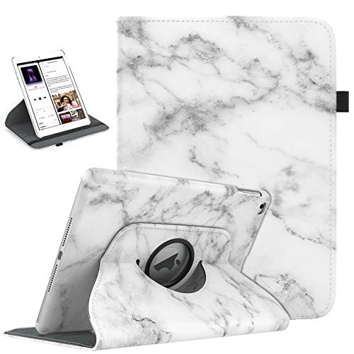 TiMOVO iPad 9.7 2018/2017, iPad Air 2, iPad Air Case - 360 Degree Rotating Case Smart Leather Stand Cover with Pencil Holder,...