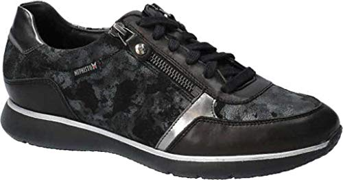 [メフィスト] シューズ 24.0 cm スニーカー Women's Monia Sneaker Black Silk レディース [並行輸入品]