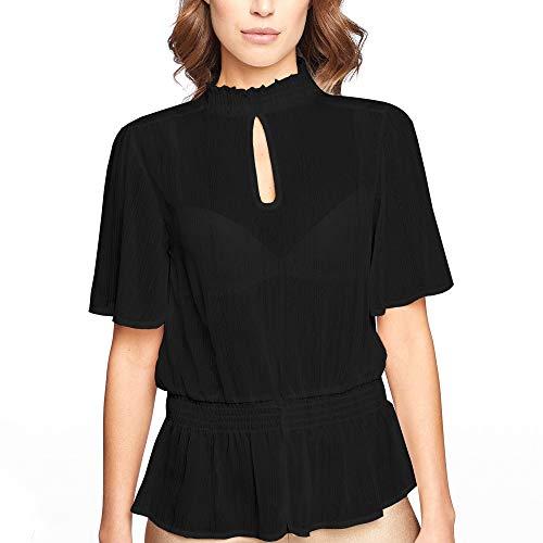 YAMAY® chiffon blouse party blouse