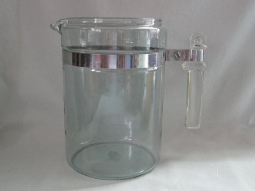 Vintage Pyrex Flameware 6-9 Cup Glass Stovetop Coffee Tea Pot Percolator Replacement Part 7829-B