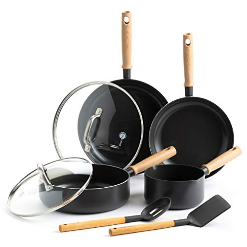 GreenPan Healthy Ceramic Nonstick Hudson Cookware Set