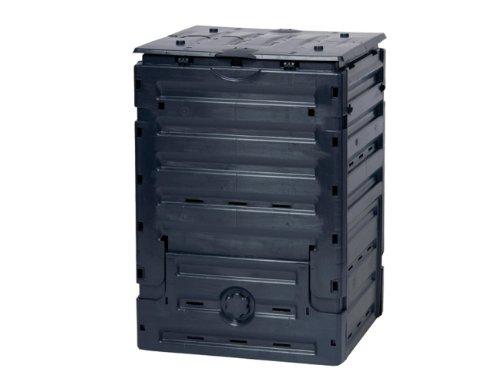 Graf 628000, Composter Eco-Master, 300 l, colore: Nero