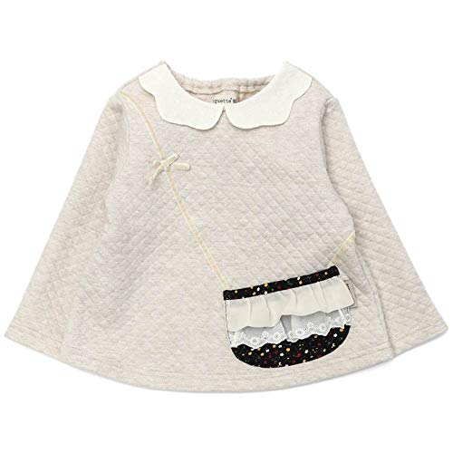 Biquette (ビケット) トレーナー (80〜130cm) キムラタンの子供服 (32107-203) ベージュ 100
