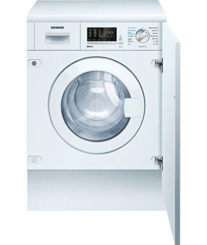 Lavadora secadora integrable - Siemens WK14D541EE 7kg/4kg, 1400 r.p.m, Clase B