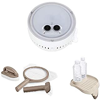 Intex PureSpa Multi-Colored LED Light Maintenance Kit & Attachable Cup Holder