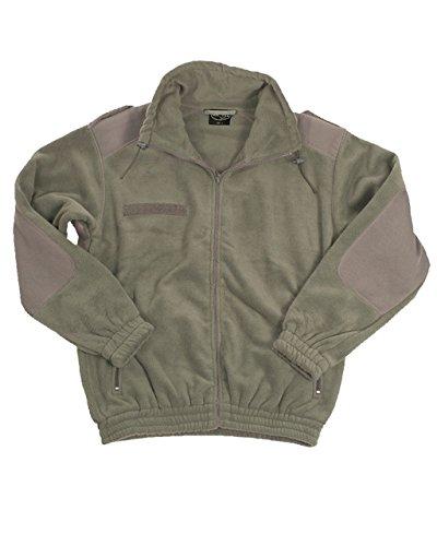 Mil-Tec Französische Kälteschutzjacke Fleece Trapperjacke Fleecejacke Army Outdoor Jacke Arbeitsjacke Oliv XS-3XL (3XL)