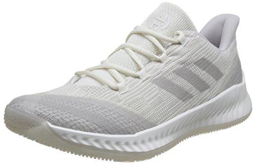adidas Harden B/e 2, Zapatos de Baloncesto Hombre, Blanco (Clowhi/Silvmt/Greone Clowhi/Silvmt/Greone), 41 2/3 EU