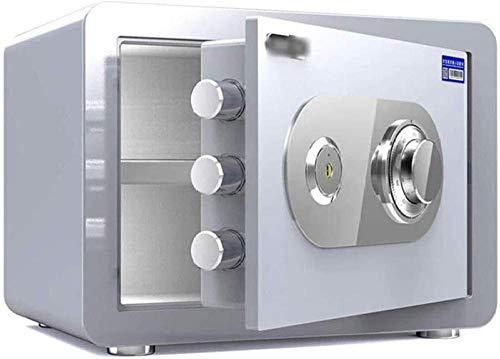 Kluizen Sleutelvergrendeling Veilig Mechanisch slot Kluis met sleutelslot Grote capaciteit 30 Antidiefstal-muurkluizen Geldveilig (maat: 30 * 30 * 38)