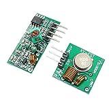 Transmisor y el Receptor Transmisor de 433 MHz y Receptor Kit for Arduino/Arm/MCU ZYS Mando a Distancia