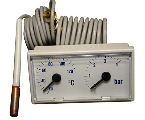 Buderus Thermomanometer GB122, Herst-Nr. 7099105