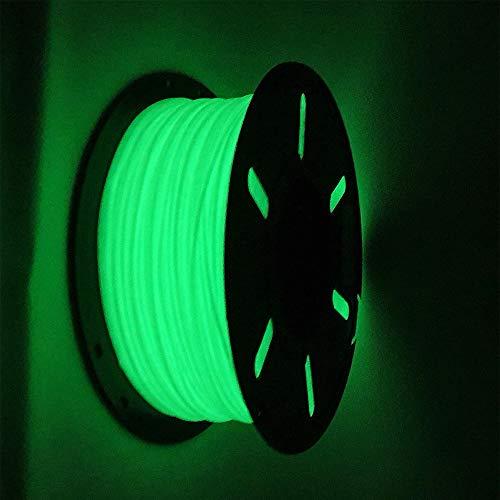1kg PETG Filament 1,75mm GLOW IN THE DARK GRÜN PET-G Nachtleuchtend Green 3D Druck