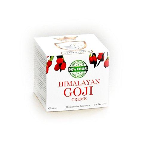 3x DELUXE MyGlamy Naturkosmetik 100% Natur GOJI-BEEREN Superfood Creme Gesichtscreme 50 ml neu