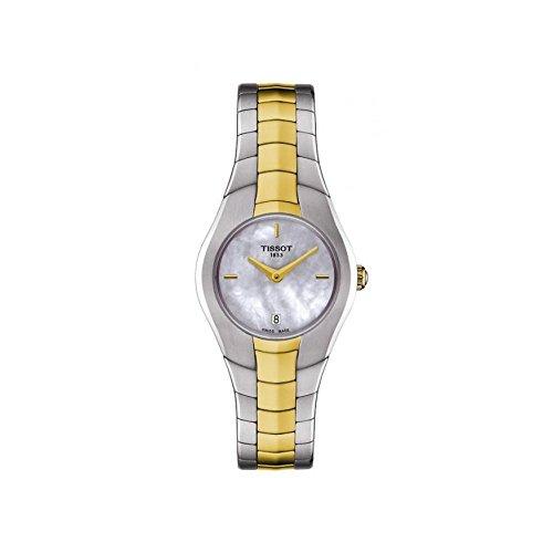 Tissot Damen Analog Quarz Uhr mit Edelstahl Armband T096.009.22.111.00