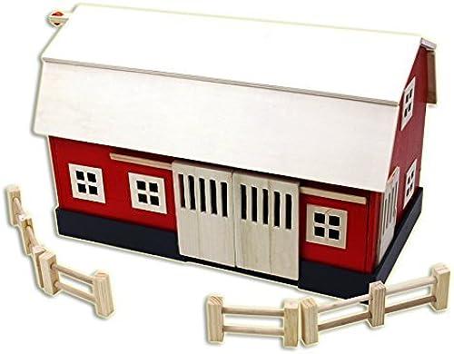Homewear bois Big rouge Barn Playset by Homewear