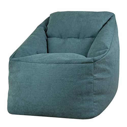 Jszzz Soft & Kuschel Designer Stuhl Sitzsack Gaming Beanbag Sitzliege Indoor & Outdoor Sitzsack (Color : Wine Red)