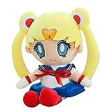 Sailor Moon Muñeco De Peluche Kawaii Japonés Clásico Dibujos Animados Personajes De Anime Sailor Moo...