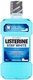 [Listerine ] リステリン白北極ミントのうがい薬500ミリリットルの滞在 - Listerine Stay White Arctic Mint Mouthwash 500ml [並行輸入品]
